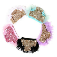 Ruffle Baby Sequins Tutu Bloomer , Baby Girls shorties , Newbo...