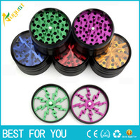 New Arrival Herb Grinders 63mm Aluminium Alloy Grinders With...
