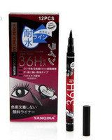 Brand New Black Eyeliner Waterproof Liquid Make Up Beauty Comestics Eye Liner Pencil # 8607 frete grátis