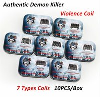 Authentic Demon Killer Violence Coil Prebuilt Framed Clapton...