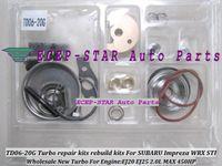 BEST Turbo Turbolader Reparatur Kit Kits Umbau Kits TD06-20G TD06 20G TD0620G Für SUBARU Impreza WRX STI Motor EJ20 EJ25 2.0L MAX 450HP