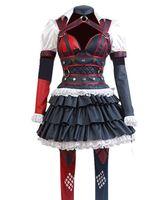 Kadın Cosplay Kostüm Harley Quinn Cadılar Bayramı Elbise