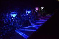 Outdoor luci solari Dengcao palla colorata luce del giardino di luce LED Luci solari inseriti impermeabili