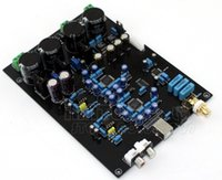 Freeshipping AK4495SEQ * 2 + AK4118 + XMOS de control suave USB junta DAC decodificador con soporte de pantalla LCD DOP DSD, (Dual AC12V-0-12V)