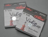 Yüksek kalite V706 Keman Dizeleri 1st-4th için Violino 1/4 1/2 3/4 4/4 Dizeleri keman parçaları aksesuarları 2 takım
