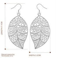 925 jewelry silver plated earrings , 925- sterling- silver fash...