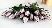 2018 baseball rose softball rose presentes de flores