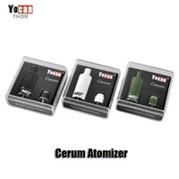 100% Original Yocan Cerum Atomizer Full Ceramic Wax Vaporize...