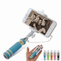 Built- in Shutter Foldable Rotatable Sefie Stick 5 Colors Min...