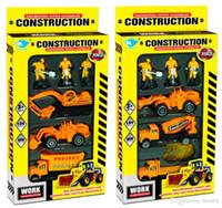 2014 состав сплава модель грузовика 1: 64. Сплав раздвижной автомобиль, маленькие дети ролевые игрушки