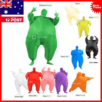 Inflatable Chub Fat Suit Fancy Dress Costume - Blow Up Hallo...