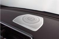 غطاء حماية وحدة تحكم مركز السيارة / غطاء حماية مكبر صوت لوحة القيادة لمرسيدس بنز 2015-2016 فئة C W205 / GLC