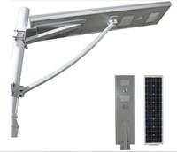 새로운 도착 120W PIR 모션 센서 혼자 태양 광 가로등을 통합 태양 광 가로등 ip65 3 년 보증