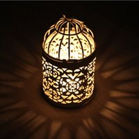 New Arrival Romantic Wedding Favours Iron Lantern Candle Hol...