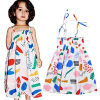 Retail Bobo Choses Graffiti Kids Dresses For Girls Clothes S...