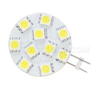 10 LED 5050 SMD dimmbare Lampe G4 AC / DC10-30V Auto-Boot Camper Spot-Akzentbeleuchtung Home and Office Nutzung