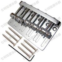جودة عالية الفضة الحديد باس غيتار كهربائي جسر 5 باس سلاسل أجزاء الغيتار