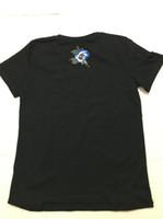 G yeni bahar ve yaz mektupları baskılı pamuklu gevşek T-shirt yuvarlak boyun kısa kollu boyutu S-XL