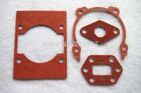 2 X Zenoah G3K G35L G4K G45L için Conta seti BC3410 4310 fırça kesici düzeltici silindir susturucu karbüratör karter conta değiştirme