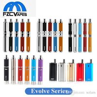 Authentique Yocan Vaporizer Evolve Plus Évoluer C Evolve D Hive Wax Herbal Vape Pen Kit 5 couleurs Vente chaude en stock
