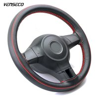 VENSECO airhole design steering wheel cover contrast piping ...