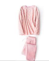 2017 inverno velluto addensare casa abbigliamento set flanella velluto flanella peluche punto maschile e femminile coppia pigiama morbido