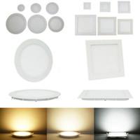 Aşağı Led Işıklar Paneli Işıklar 3W 6W 9W 12W 15W 18W 24W Led Gömme Işıklar Downlight Tavan Lambası AC 85-265V # 25