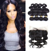 13x4 ear to ear lace frontal closure with 4 bundles virgin b...