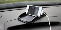 Высокое качество автомобиля Используйте черный липкий накладки коврик против скольжения гаджеты мобильного телефона GPS держатель интерьера предметы аксессуары