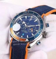 Neue Herren Chronograph Japan Quarz OS Uhr Männer Master 600m Co Axialuhren Männer VK Sport Datum Chronometer Zeit 007 Planet Armbanduhren