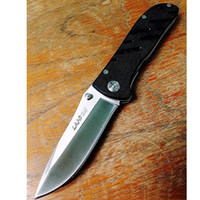 Sanrenmu Land Knife Plain Edge GB- 907 907 G10 handle Discont...