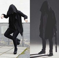 Assassins Creed Cloak Coats Male Casual Outwear Solid Coats ...