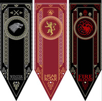 100pcs House Stark Banner - Game of Thrones Wolf Tournament ...