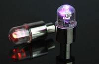 무료 배송 + 다채로운 가스 노즐 밸브 캡 라이트 타이어 휠 네온 차가운 Led 램프 램프 / 오토바이 / 전기 자동차 / 자전거 1000pcs / lot