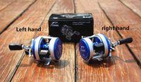 Hot DA200 12 + 1左/右手ラウンドBaitcast Reel Mini Baitcasting Reels Fishing Reelsすべての金属高品質! DDL.