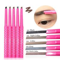 自然防水ロングラストシャドウ眉毛鉛筆キットアイブローペンメイクアップライナーパウダーシェイパー化粧品化粧用工具