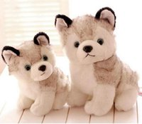 husky dog plush toys stuffed animals toys hobbies 18cm 23cm ...