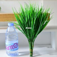 Green Grass Artificial Plants For Plastic Flowers Household ...