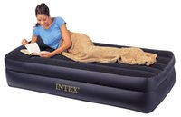 Pillow Rest Twin Airbed with Built- in Electric Pump, Air Mat...