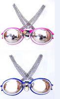 2014 New Chastity bra dispositifs de chasteté en acier inoxydable sex toys SM bondage soutien-gorge de chasteté en acier inoxydable fait de vêtements de soutien-gorge féminin