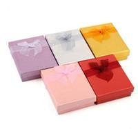 Gran tamaño 8,5 cm * 6,5 cm * 2,5 cm Joyas / Conjuntos de joyas Collar Pulseras Pendientes Anillo Regalos Embalaje Paquete Embalaje Pantalla Mostrando caja de la caja