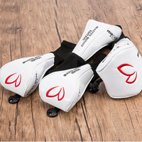 High quality PU Personality Golf Headcover Golf Wood Headcov...