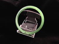 10pcs / серия дисплей ювелирных изделий Белого Clear Platistic Rack Стенд держатель для браслет браслет цепи Anklet Watch Phone Display