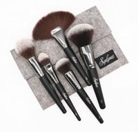 Sylyne 메이크업 브러쉬 5pcs 고품질 전문 브러쉬 세트 블렌딩 페이스 브러쉬 키트 키트 화장 도구 브러쉬