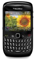 Восстановленная оригинальная BlackBerry 8520 кривая разблокированные мобильные телефоны 2.46 дюйма 2MP QWERTY клавиатура WiFi 2G GSM