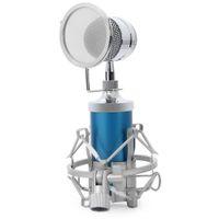 2017 BM8000 Professionnel Son Studio Enregistrement À Condenseur À Fil Microphone 3.5mm Plug Stand Titulaire Pop Filtre pour KTV Karaoké