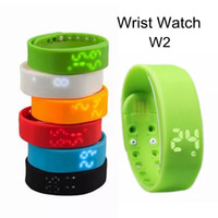 W2 Sports Smartband 3D Bangle Pedometer USB Port Wristband L...