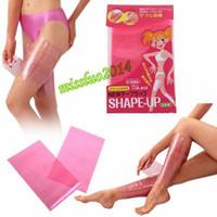 Сауна для похудения ноги пояса обернуть бедра теленка похудеть тела формирователь вверх тонкий пояс Bodyshaper формирователь ноги 400 шт. (2 шт./упак.)