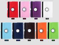 Cassa del PC IPAD in pelle flip per Samsung Galaxy Tab 2 P5100 Lite7 T110 T310 T320 T700 T520 T310 T320 T700 T520 360 rotante PU Smart Pieghevole folio coperchio