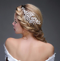 2015 Wedding Hair Accessories Cheap Gold Hair Headwear Sexy ...